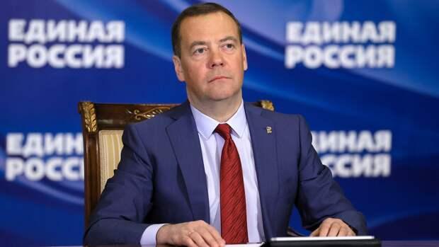 Председатель Всероссийской политической партии Единая Россия Дмитрий Медведев ведет прием граждан в режиме видеоконференции - РИА Новости, 1920, 23.04.2021