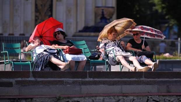 Жители Москвы столкнутся с рекордной за 140 лет жарой