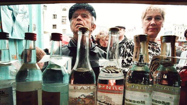 Уровень потребления алкоголя в России снижается