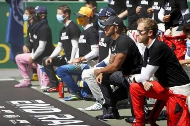 Даниил Квят снова отказался преклонять колено перед гонкой (7 фото)