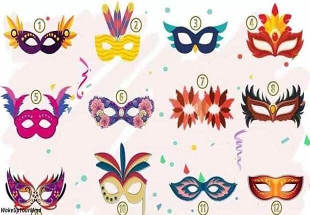 Выберите маску — и мы расскажем, что вы пытаетесь скрыть