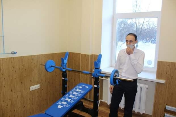 В Глазове открыли фитнес-центр для медработников