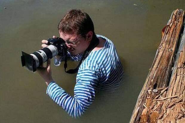Фотографы, оказавшиеся по другую сторону объектива (27 фото)