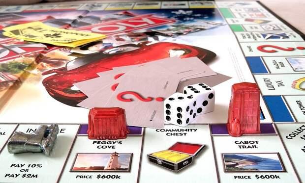 Монополия, Канадский, Игры, Кости, Играть