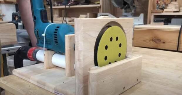Как сделать шлифовальный станок с пылеуловителем