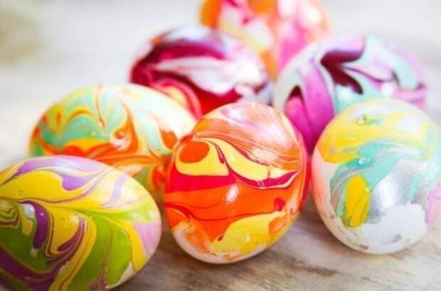 Как необычно покрасить яйца к Пасхе. Несколько оригинальных идей!