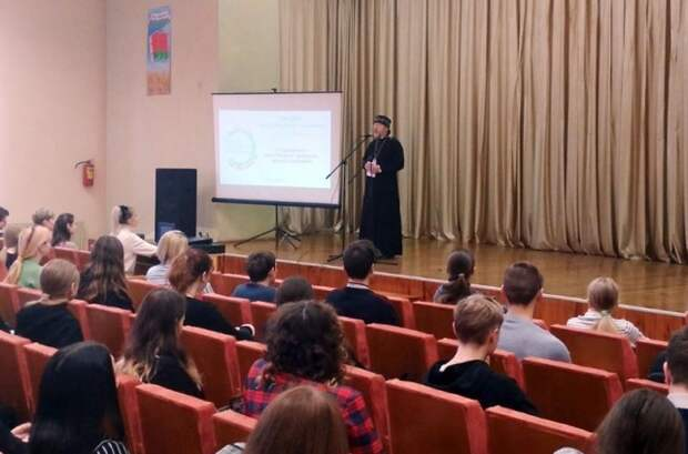 В Кличеве прошла встреча молодежи со священником на тему ´О духовных и нравственных ценностях´.