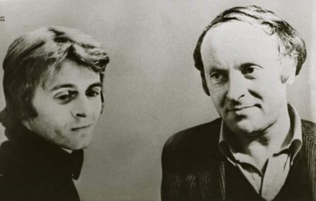 Михаил Барышников и Иосиф Бродский, 1970-е | Фото: brodsky.online