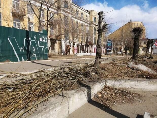 В Чите потратят на уборку и озеленение более 9 млн рублей