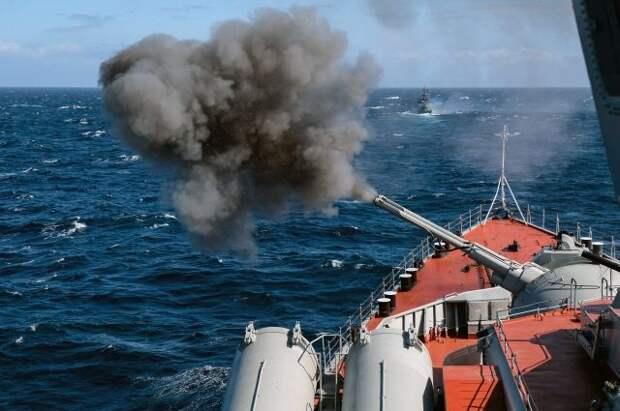 В Баренцевом море стартовали учения Северного флота