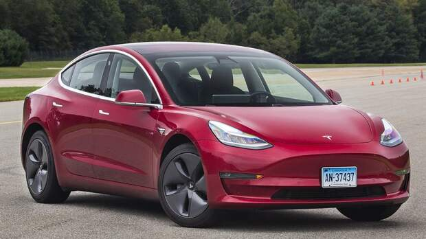 Tesla Model 3 установила исторический рекорд продаж в декабре