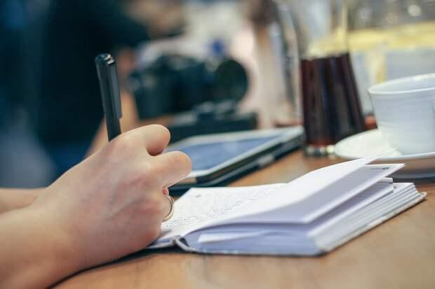 Рука, Написать, Ручка, Ноутбук, Журнал, Планировщик