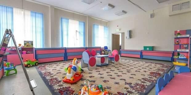 Собянин: Детские сады в Москве возобновят работу в полном объеме с 23 июня. Фото: mos.ru