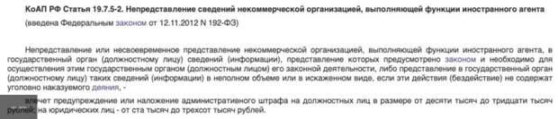 Лживая структура Навального продолжает нарушать закон: наготове очередной штраф за игнорирование подачи документов в Минюст