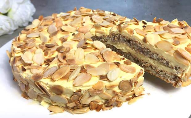 Делаем знаменитый торт из Икеа дома: рецепт не требует даже муки