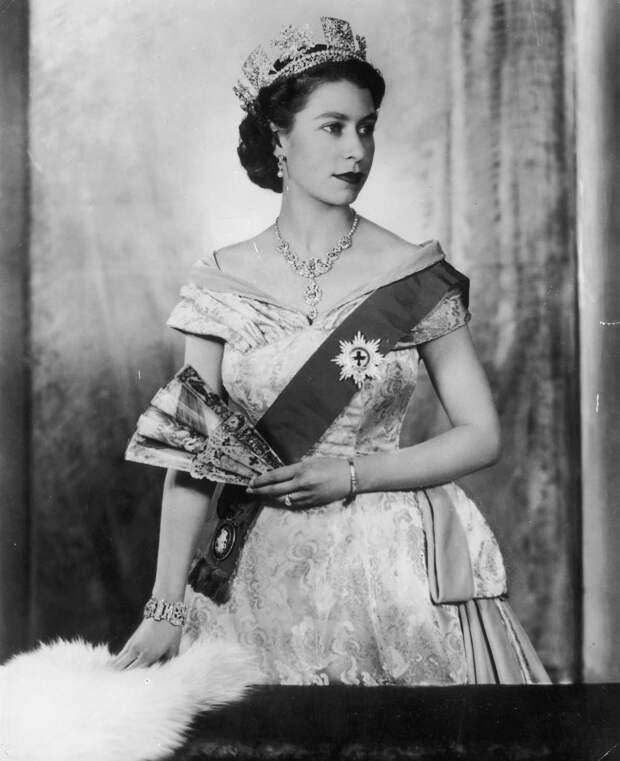 Портрет Елизаветы II,1952