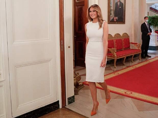 50-летнюю Меланию Трамп осудили за чересчур дорогой наряд