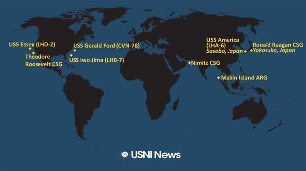 В Персидский залив вошла эскадра ракетоносцев. К чему бы?