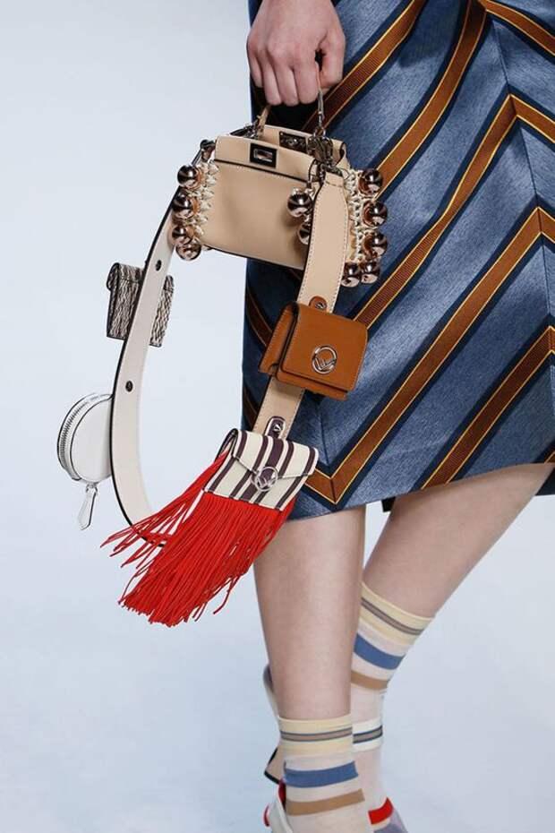 необычные ремни для сумок