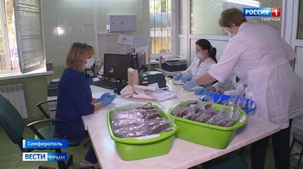 Как в Крыму обеспечивают безопасность донорской крови