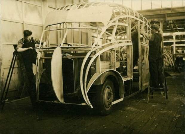 Самый необычный фургон в стиле ар-деко