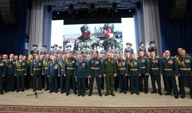 Оренбургское высшее зенитное ракетное училище отметило 85-летний юбилей