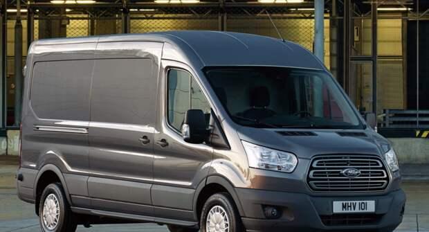 Продажи Ford Transit в апреле выросли более чем в 3 раза