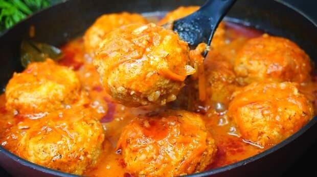 Рыбные тефтели в томатном соусе Тефтели, Рецепт, Видео рецепт, Еда, Видео