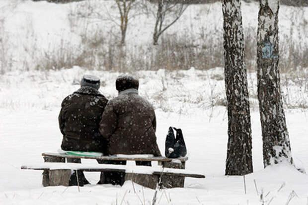 Пожилые супруги отчаялись жить на одну пенсию и попытались умереть в один день