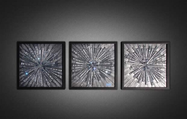 Создание объемных картин своими руками: 3 мастер-класса