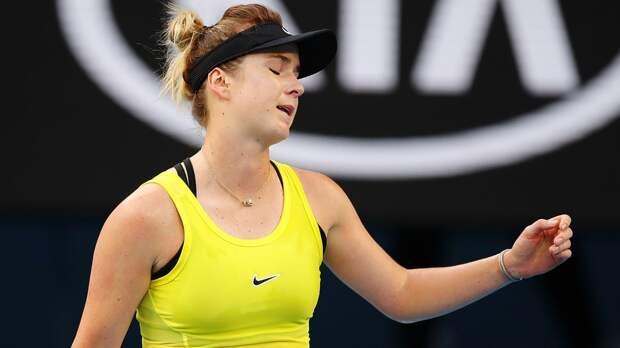Свитолина уступила Тайхманн на старте турнира в Мадриде