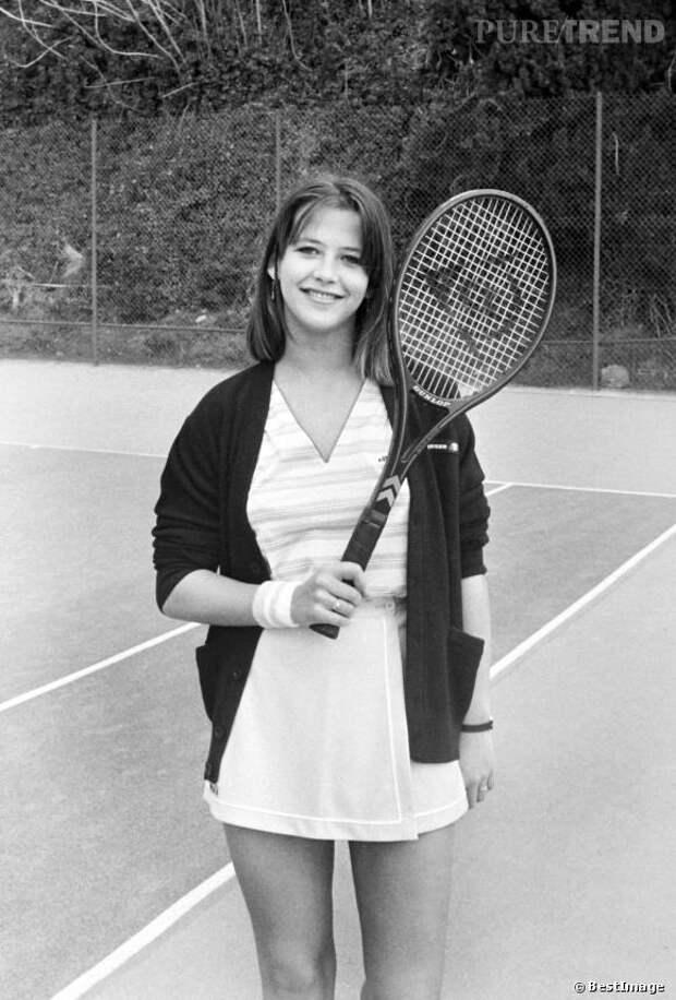 "Юная прелестница Софи Марсо в на съемках легкой французской комедии ""Ла Бум"""