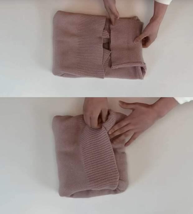 Сложите одежду такими способами, и в шкафу всегда будет порядок