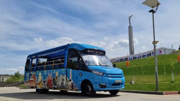 Автобус-кабриолет появился на туристическом маршруте в Самаре