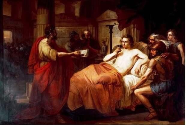 Заболел Александр Македонский в 32 года.