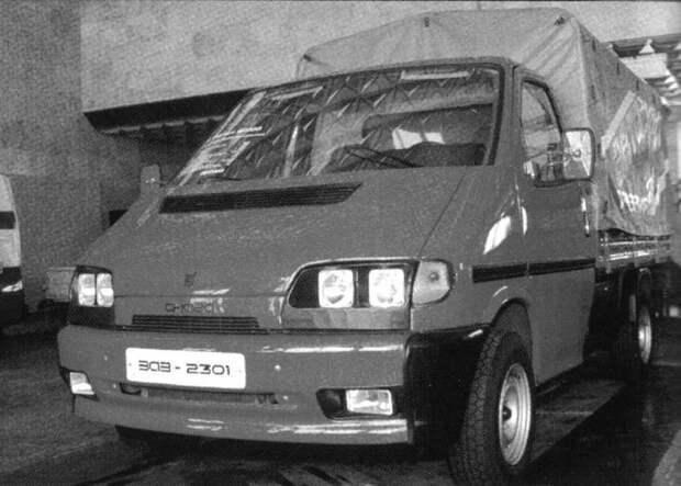 Неизвестный «Запорожец»: грузовичок ЗАЗ-2301 «Снага» ЗАЗ-2301, авто, автомобили, грузовик, заз, запорожец, прототип, разработки