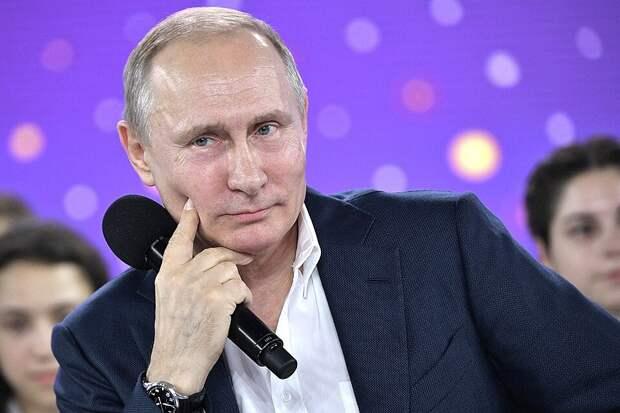 Президент России Владимир Путин. Фото Алексей Никольский / ТАСС