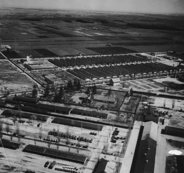 Вид на Дахау с воздуха: образец немецкой аккуратности.