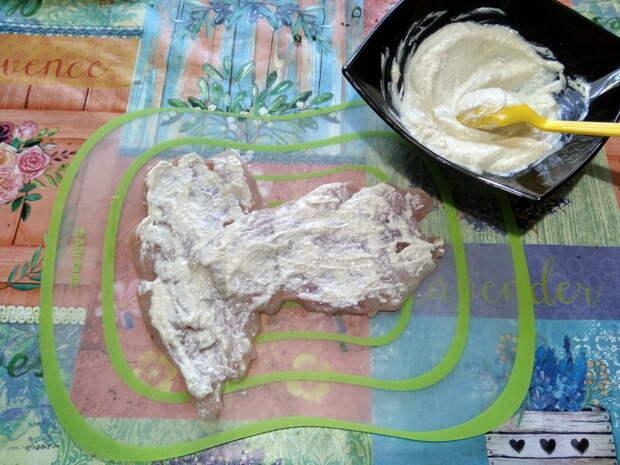 Куриные конвертики без теста с луком и яйцом