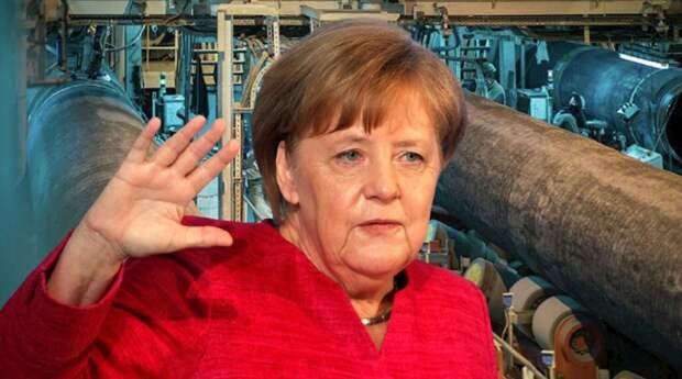 Меркель: Германия приняла решение по «Северному потоку - 2» несмотря на мнение ЕС