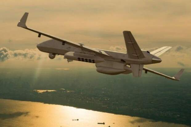 В США испытали новую дистанционно пилотируемую авиационную систему MQ-9B SeaGuardian.