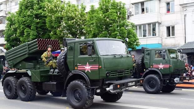Когда в Симферополе пройдут репетиции парада Победы