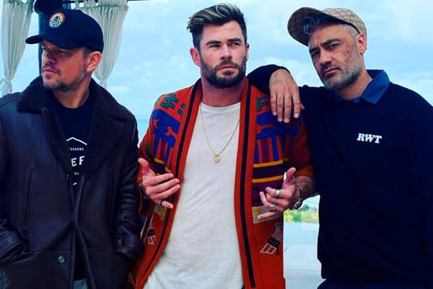 Крис Хемсворт готовит дебютный музыкальный альбом