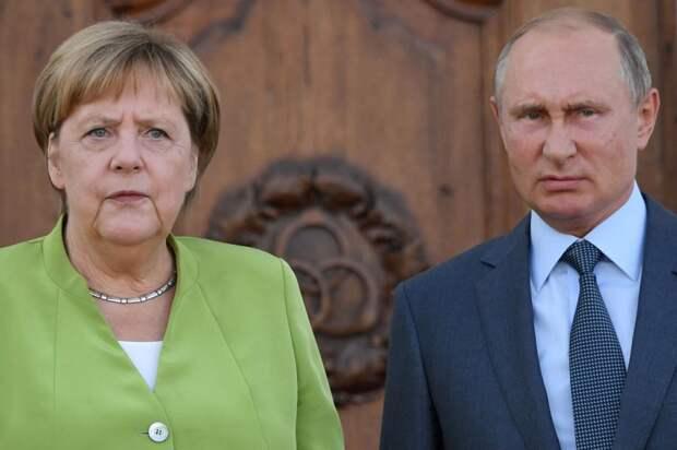 """Канцлер Меркель, Украина, Крым и """"взбешенный"""" Путин"""