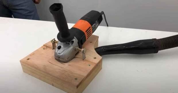Плоскошлифовальная машинка из болгарки — для обработки дерева и металла