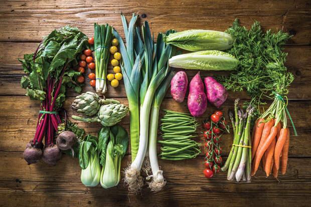 Что есть в овощах?