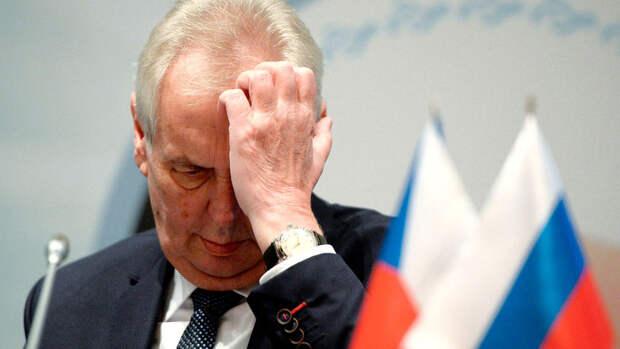 """Земан назвал """"глупостью"""" включение Чехии с список недружественных стран в РФ"""