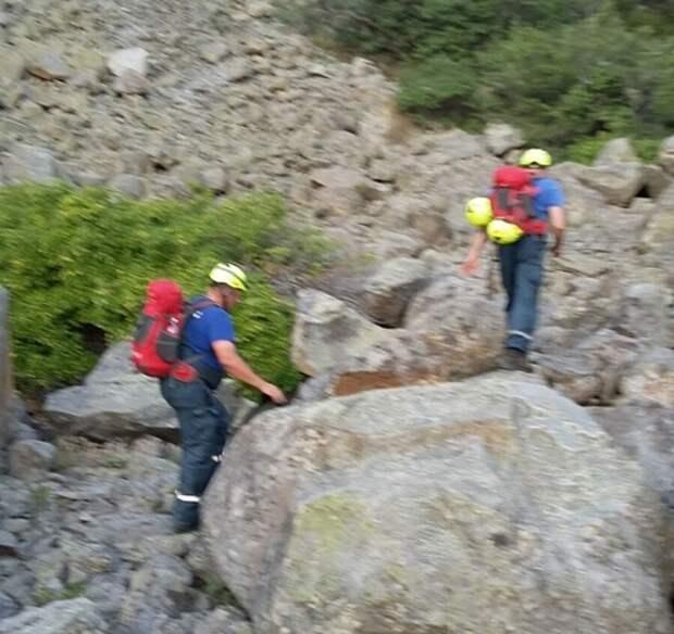 На горе Аю-Даг заблудились туристы