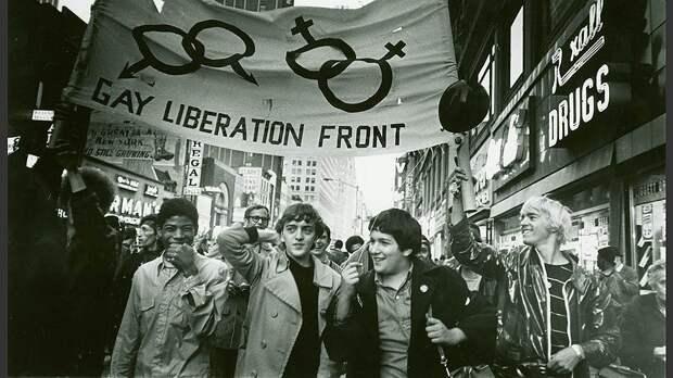 Марш Фронта освобождения геев, 1969