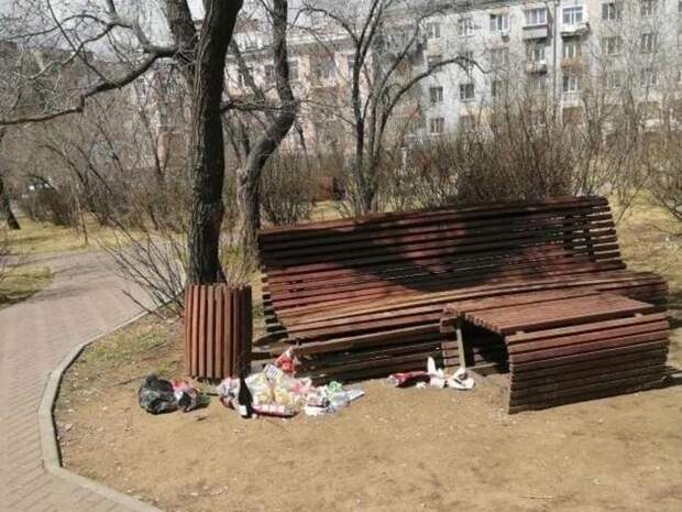 Жители разных районов Читы жалуются на мусор